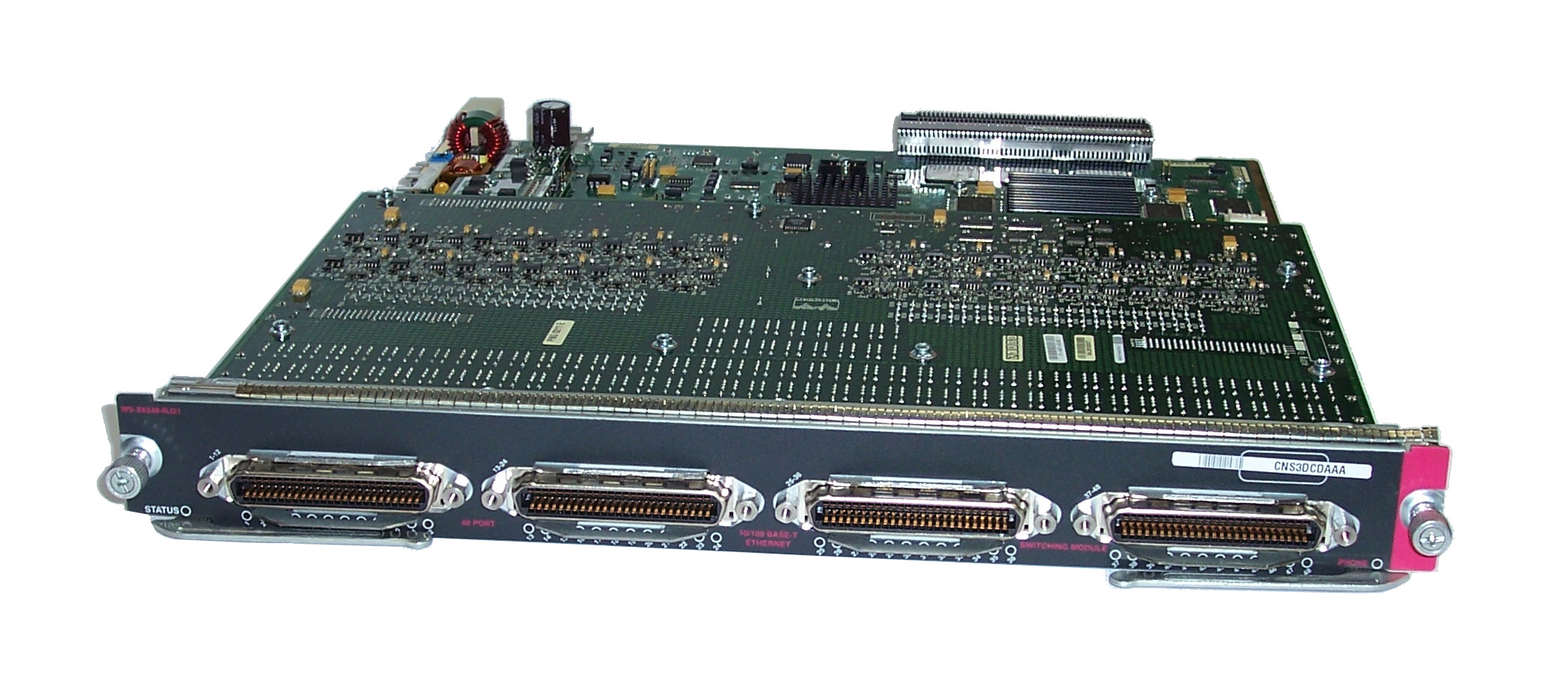 Cisco WS-X6348-RJ21 Catalyst 6500 series 48-Ports 10/100Base-T Switching  Module