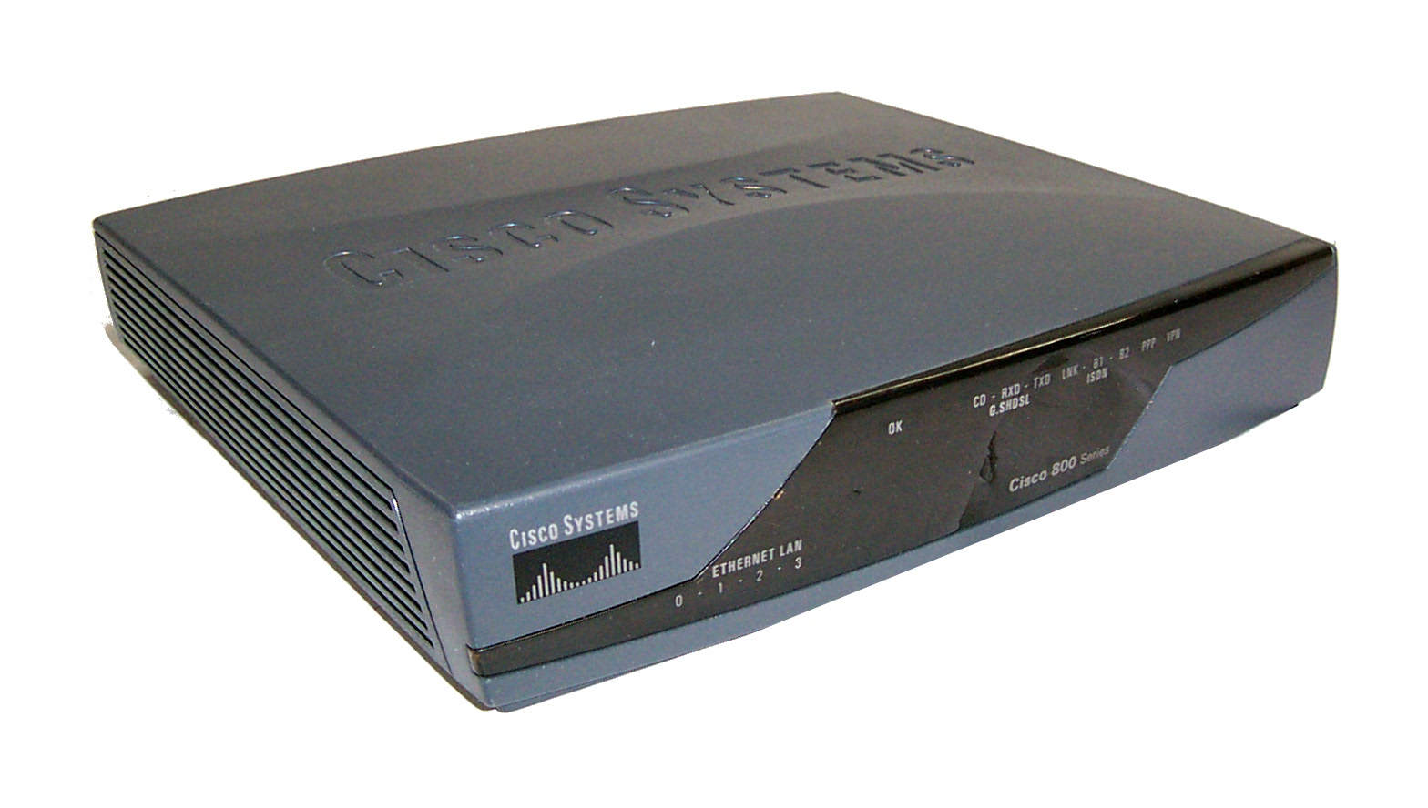 Cisco 800 Series 878 Version: 12.4(4)T1 Integrated Services Router ...