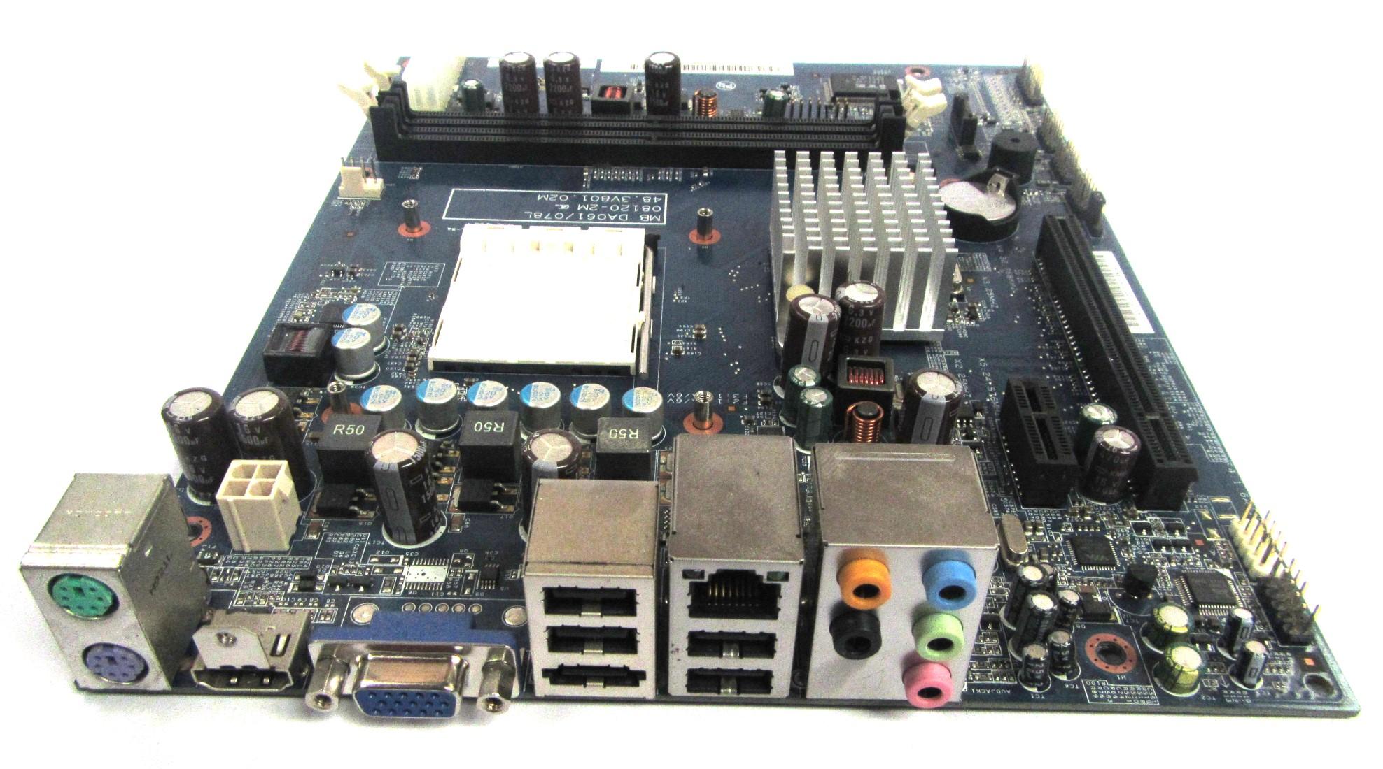 DA061/078L Packard Bell/Acer Socket AM2 Motherboard MB.SAR01.004 48.3V801.02M