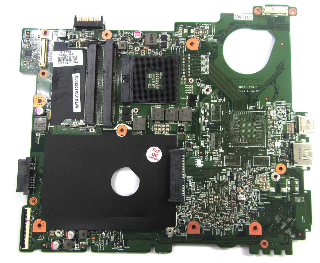 0Y0RGW Dell Vostro 3550 Laptop Motherboard /w Intel Socket rPGA989