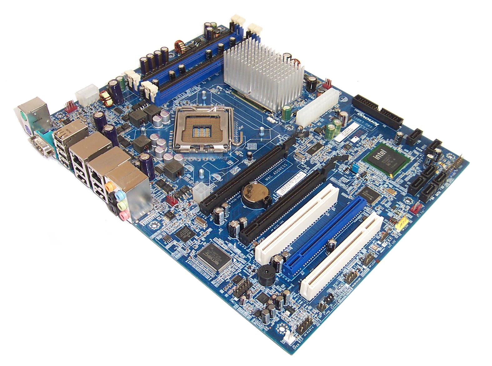 IBM Lenovo 46R2579 Thinkstation S10 Socket T (LGA 775) Motherboard