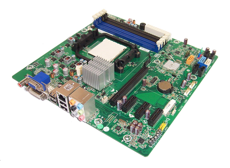 HP Pro 3125 MT 605561-001 Socket AM3 Motherboard H-ALPINA-RS780L-uATX:1.01 /& BP