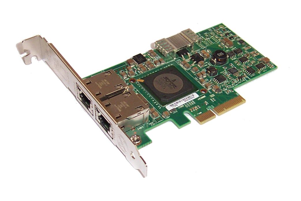 Dell G218C Dual Port Gigabit PCI-e Network Adapter For PowerEdge T110 Server