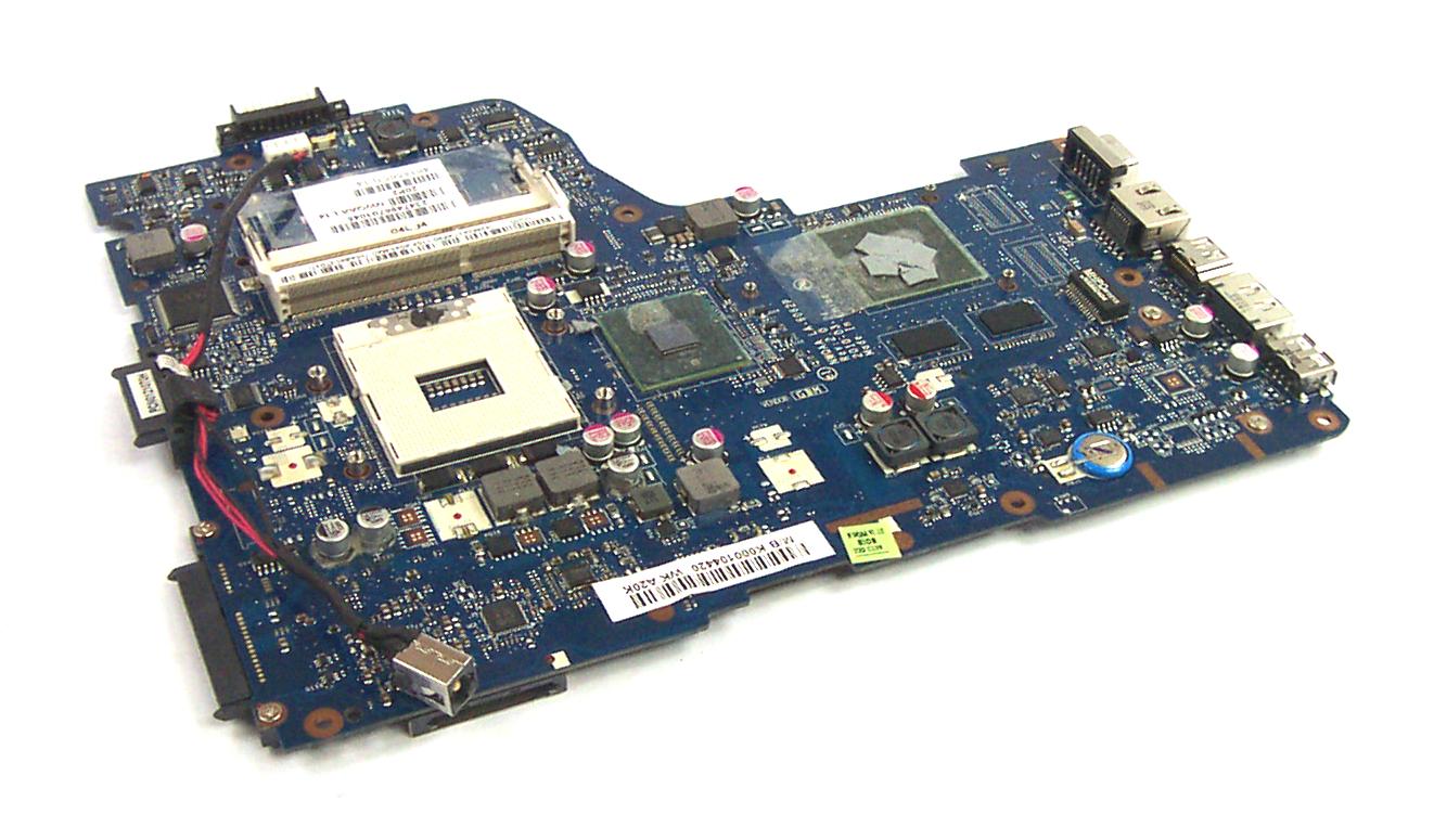 Toshiba K000104420 Socket G1 Laptop Motherboard - NWQAA LA-6062P