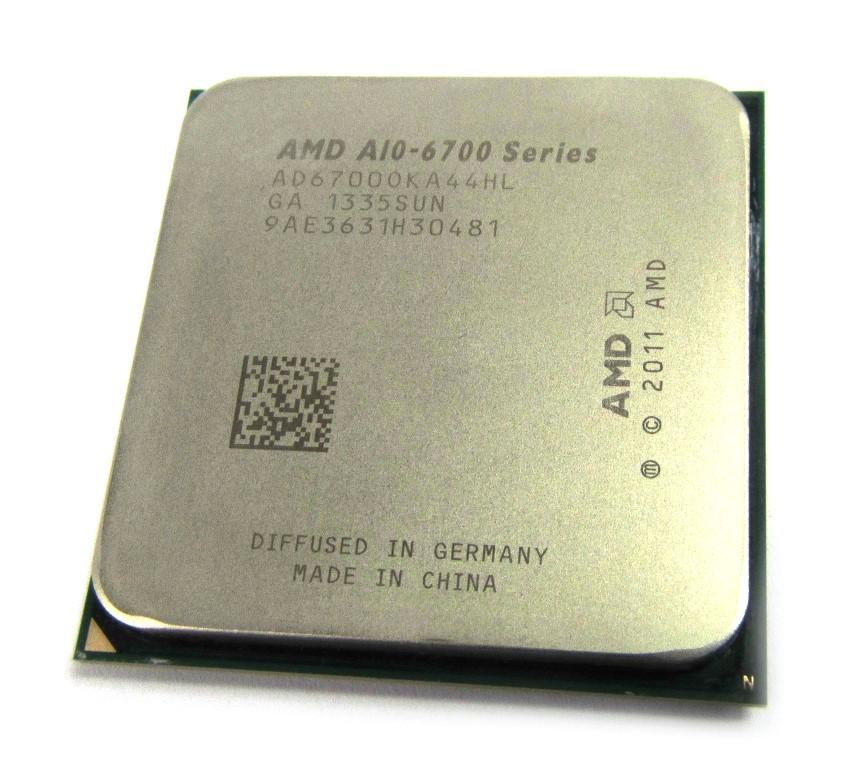 AD6700OKA44HL AMD A10-6700 3.7GHz (4.3GHz Turbo) Socket:FM2 Quad-Core APU CPU