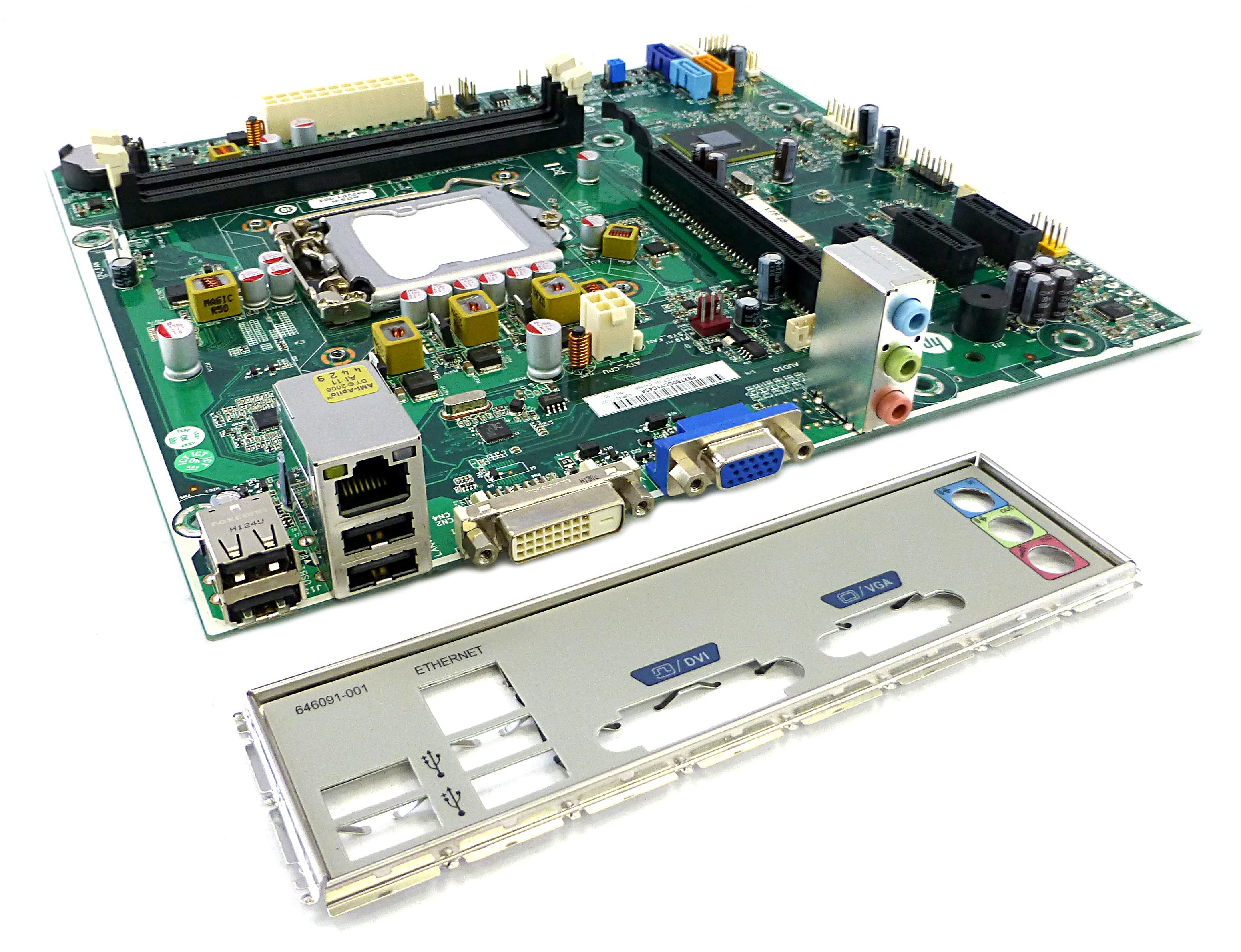 HP H-CUPERTINO-H61-uATX LGA1155 Motherboard -  P/N 642201-001