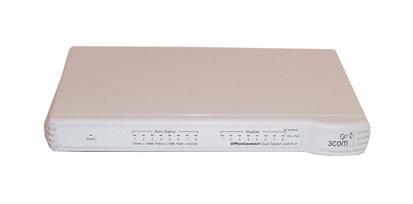 3com 3c16791a 8 port officeconnect dual speed switch no for 3 com switch