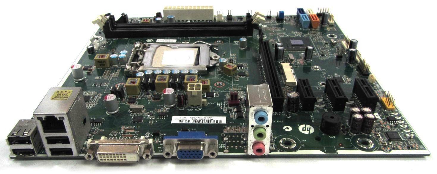 HP 657002-001 Pro 3400 Series MT Socket LGA1155 Motherboard - Infineon-E
