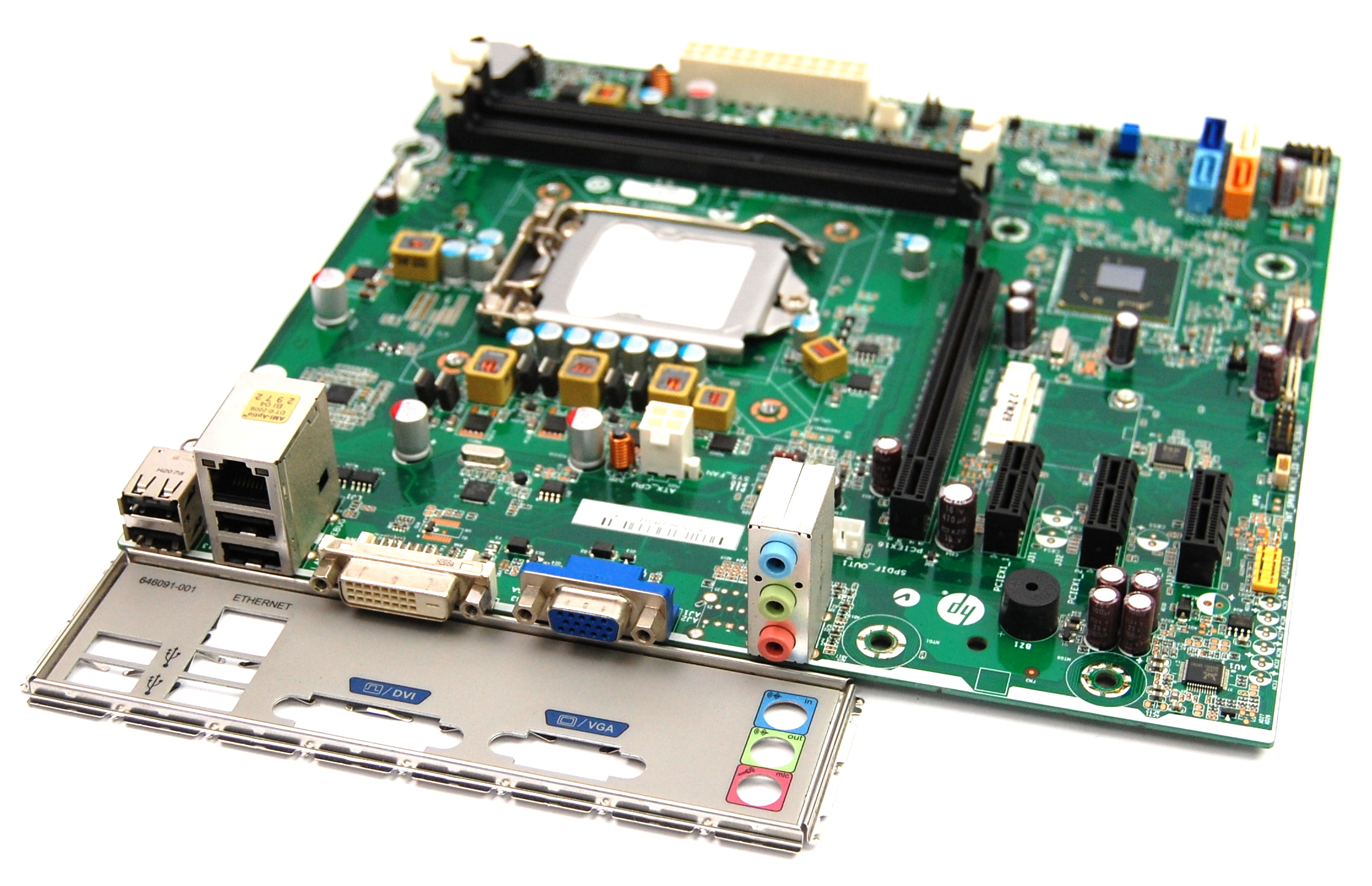 HP 657002-001 Pro 3400 Series MT Socket LGA1155 Motherboard - Infineon-E