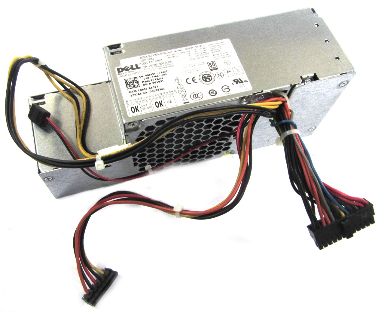 Dell G185T OptiPlex 780 SFF Small Form Factor Desktop PC 235W PSU Power Supply