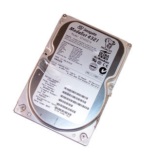 "Seagate 9K2003-653 ST34321A Medalist 4321 4.3GB 5400RPM IDE 3.5"" Hard Disk Drive"