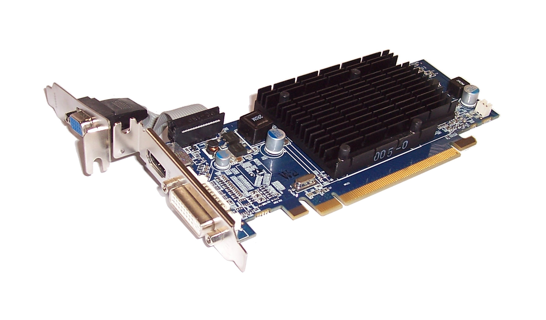 Sapphire 288-6E106-102SA HD4550 512M DDR3 HDMI/ DVI-I/ VGA PCIe LP Graphics Card