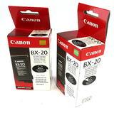 Pair of Genuine New Canon BX-20 Black 44ml BJ FAX Cartridges
