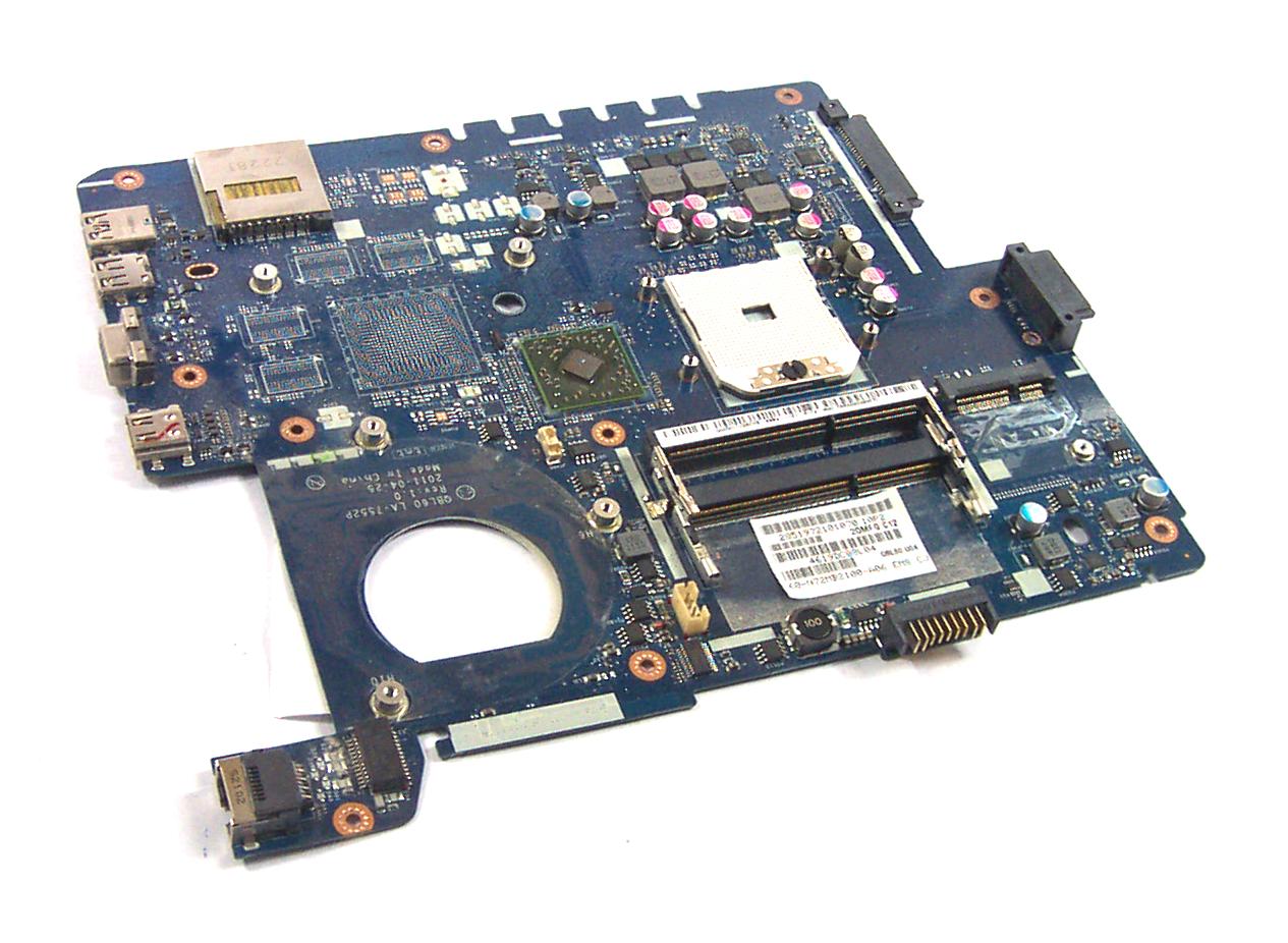 FAULTY Asus 60-N72MB2100-A06 Socket FS1 Laptop Motherboard - QBL60 LA-7552P