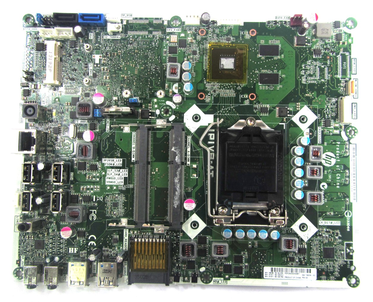 708236-001 HP Intel LGA1155 AiO Motherboard - IPIVB-AT