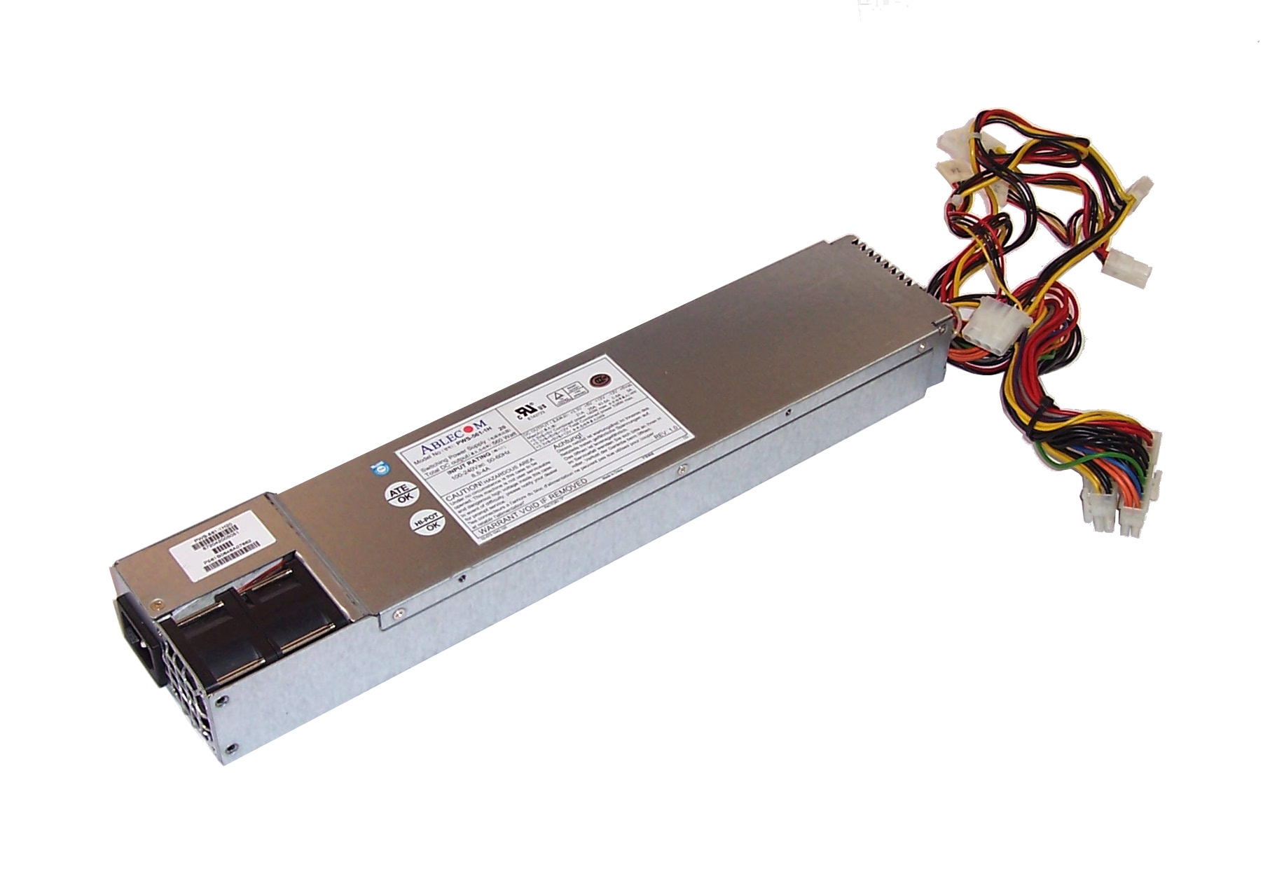 Ablecom PWS-561-1H 20 560W Non Hot-Swap 20-Pin Switching Power Supply