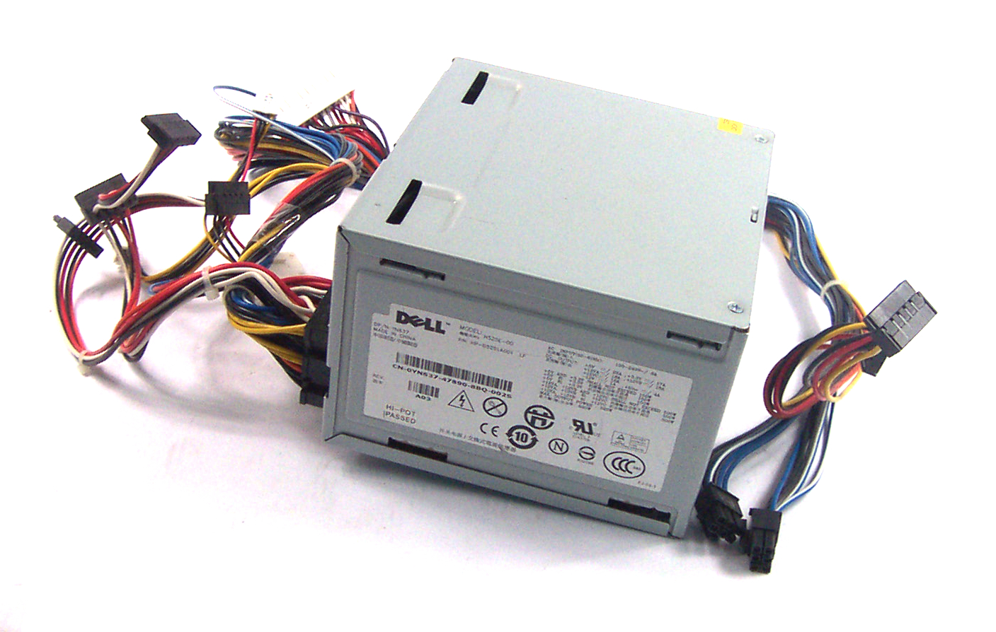 Dell YN637 Precision T3400 525W 24 Pin Power Supply - H525E-00 / KP500