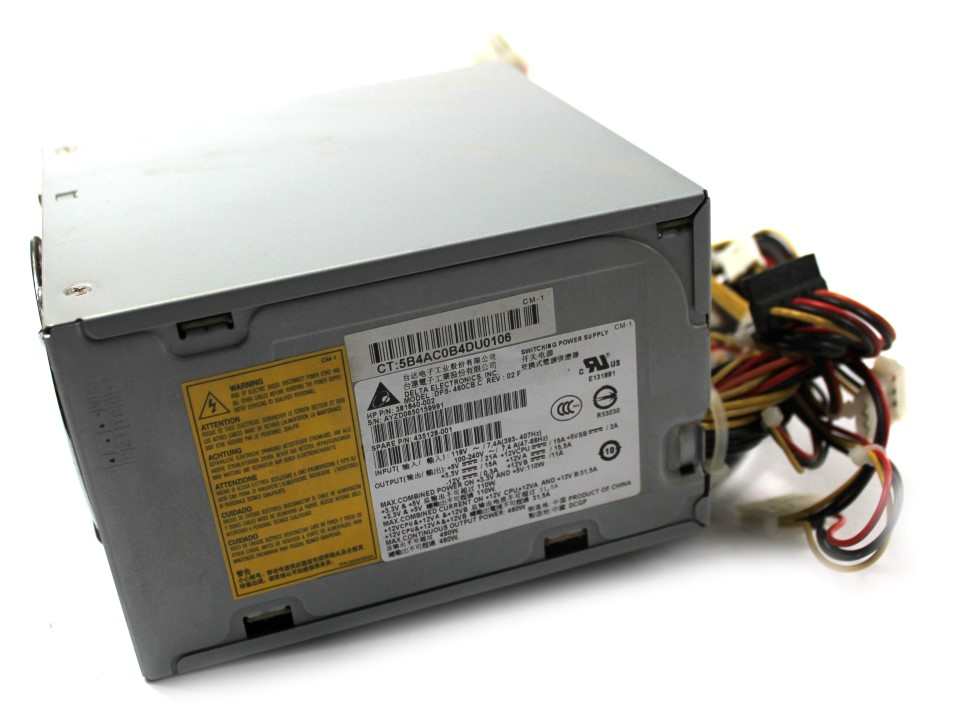 381840-002 HP 460W PSU Power Supply(Delta DPS-460CB C REV:02F) SP:435128-001