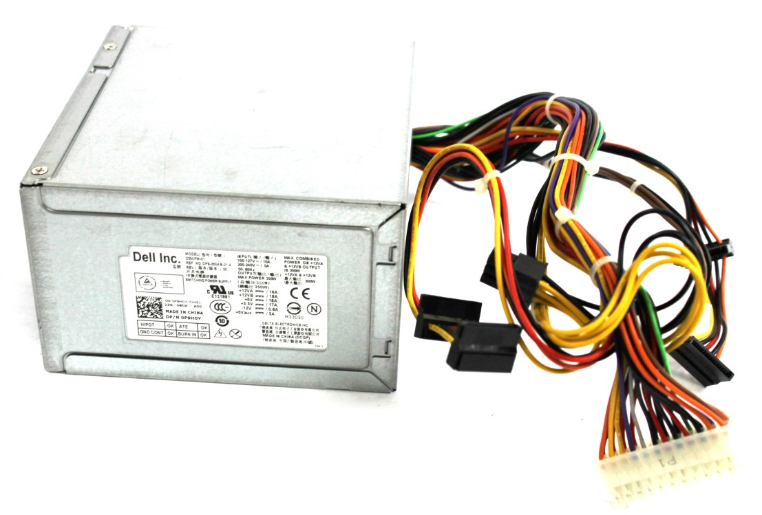 P9H0Y Dell 350W 24-Pin PSU Power Supply Unit - DPS-350AB-21A