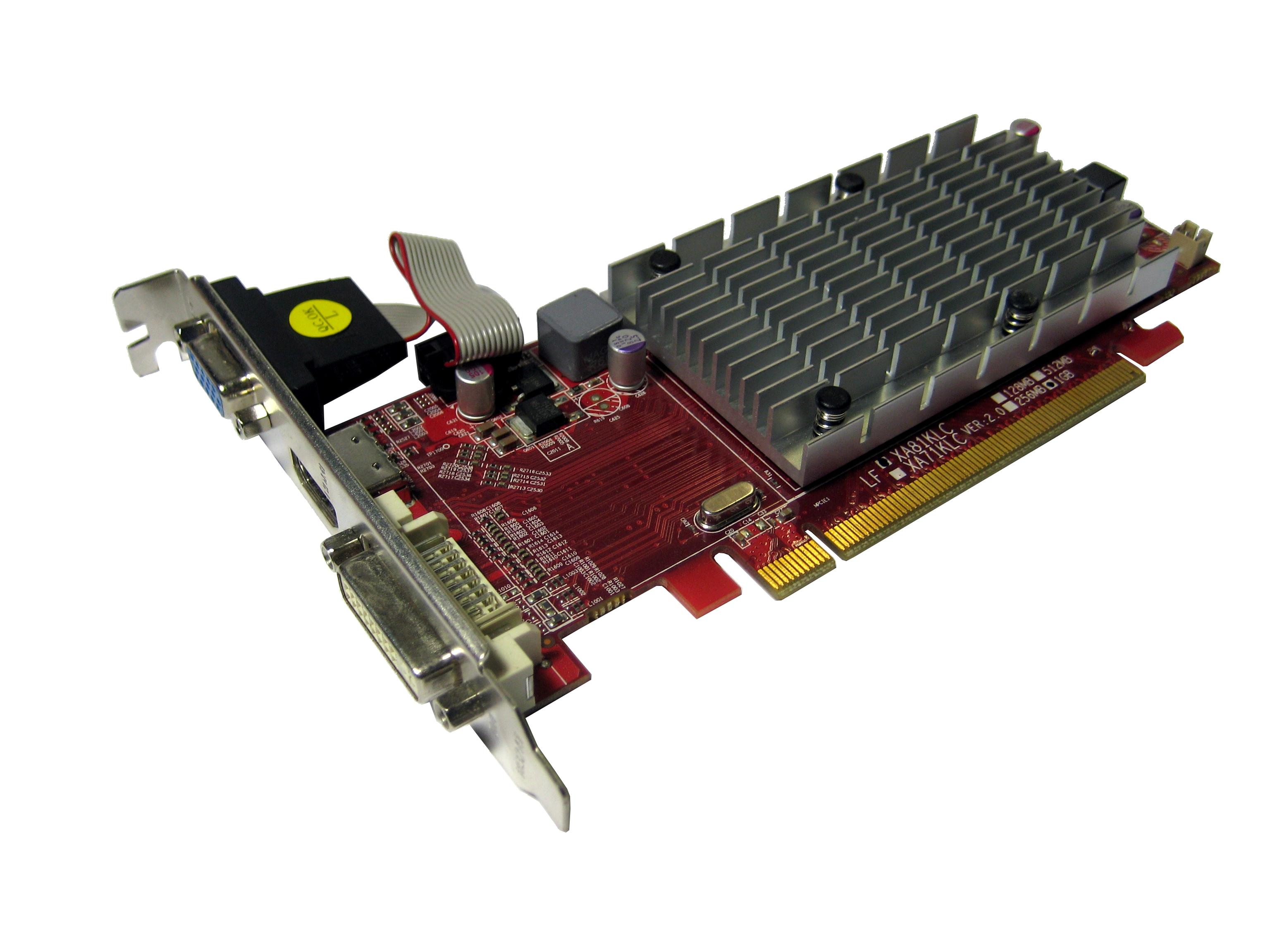 VTX VX5450 1GBK3-HV2 Radeon HD 5450 1GB PCI Express Graphics Card