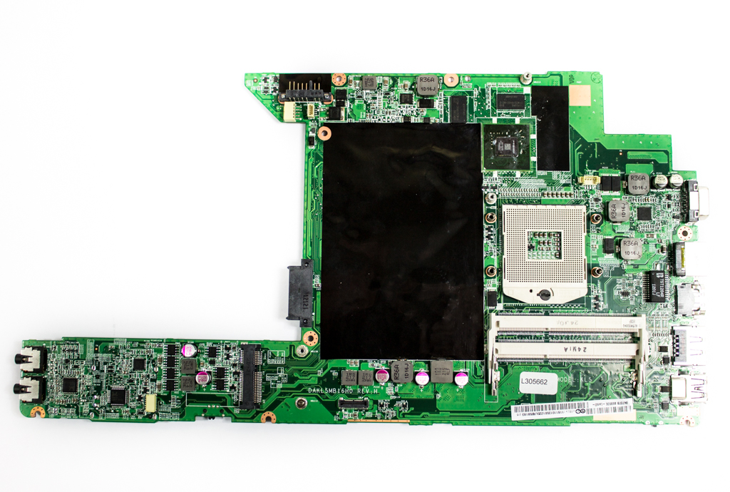 11S10250 Lenovo Socket rPGA-989 Laptop Motherboard - DAKL5MB16H0 Rev:H