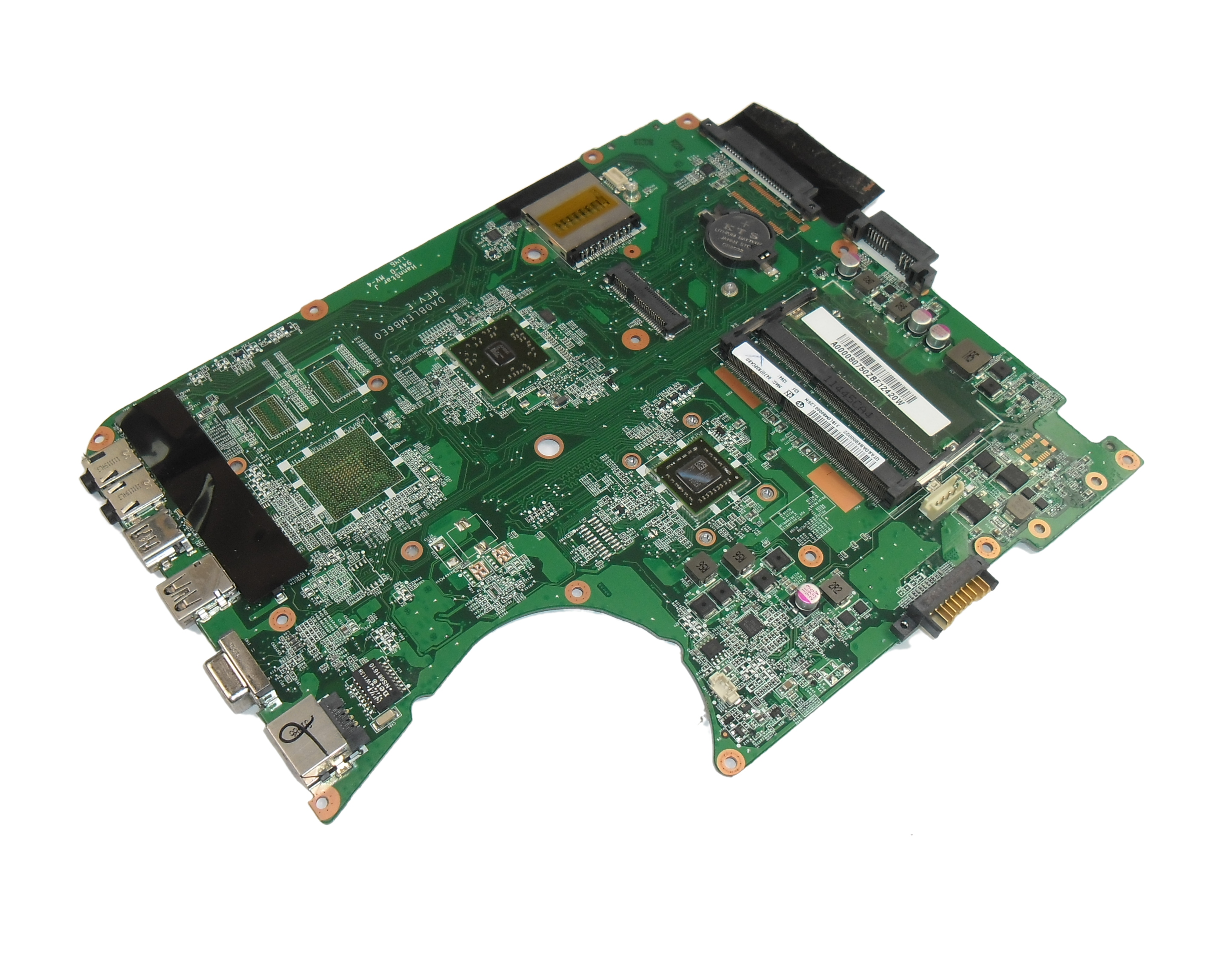 A000080750 Toshiba Satellite L755D Motherboard with AMD E-350 CPU - 31BLEMB0000