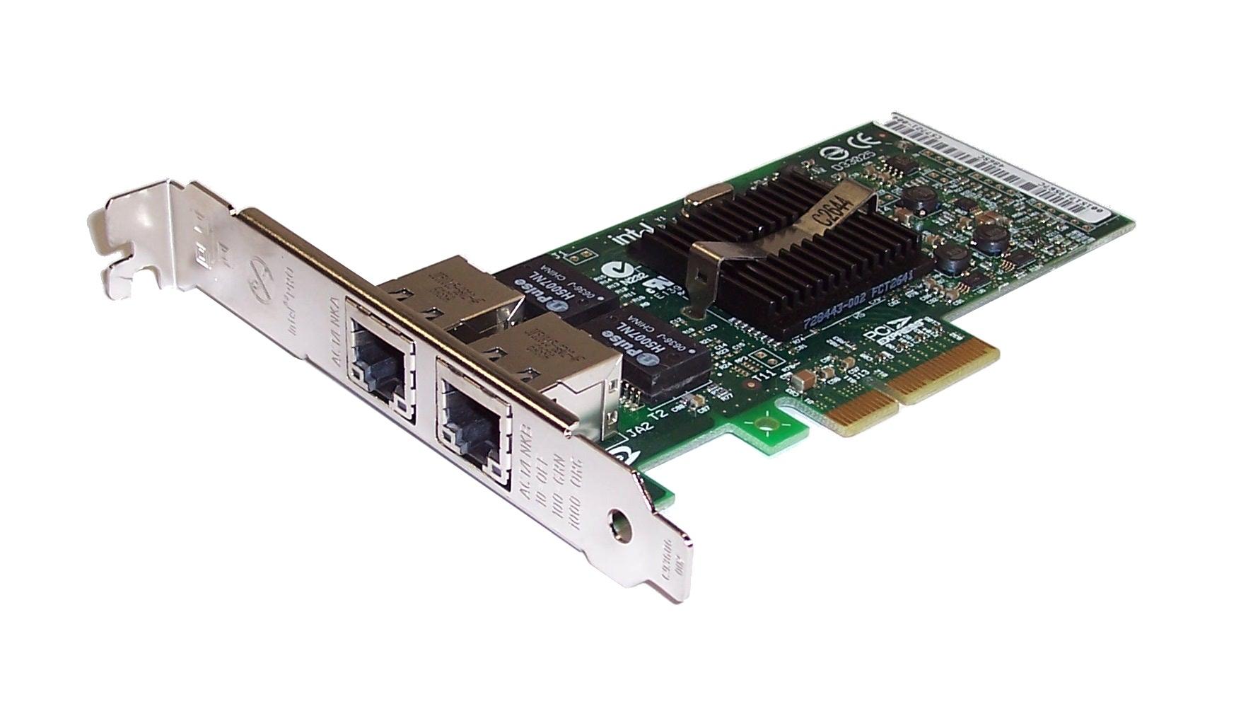 Dell X3959 C57721-005 PCIe Dual Port Gigabit Network Interface Card