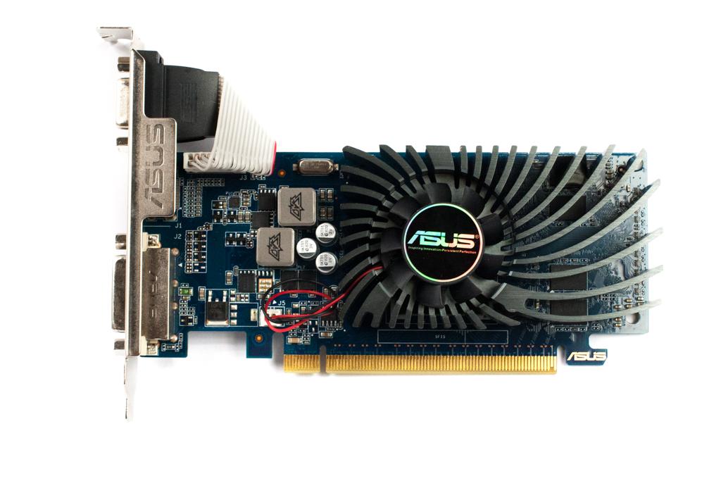 GT620-1GD3-L-V2 Asus GeForce GT620 DDR3 1GB VGA/HDMI/DVI PCIe Graphics Card