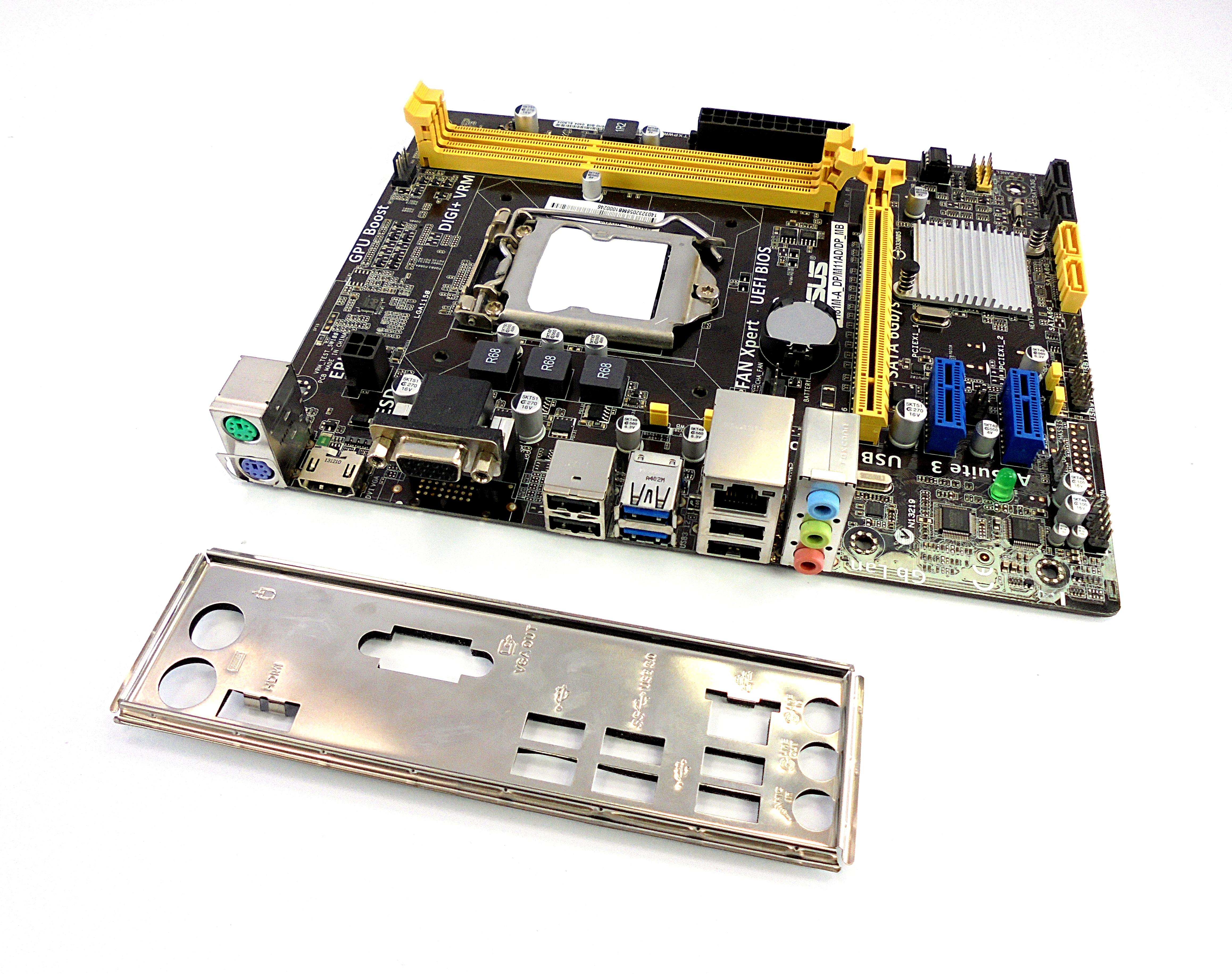 H81M-A_DP/M11AD/DP_MB Asus H81M-A H81 LGA1150 Micro-ATX Motherboard