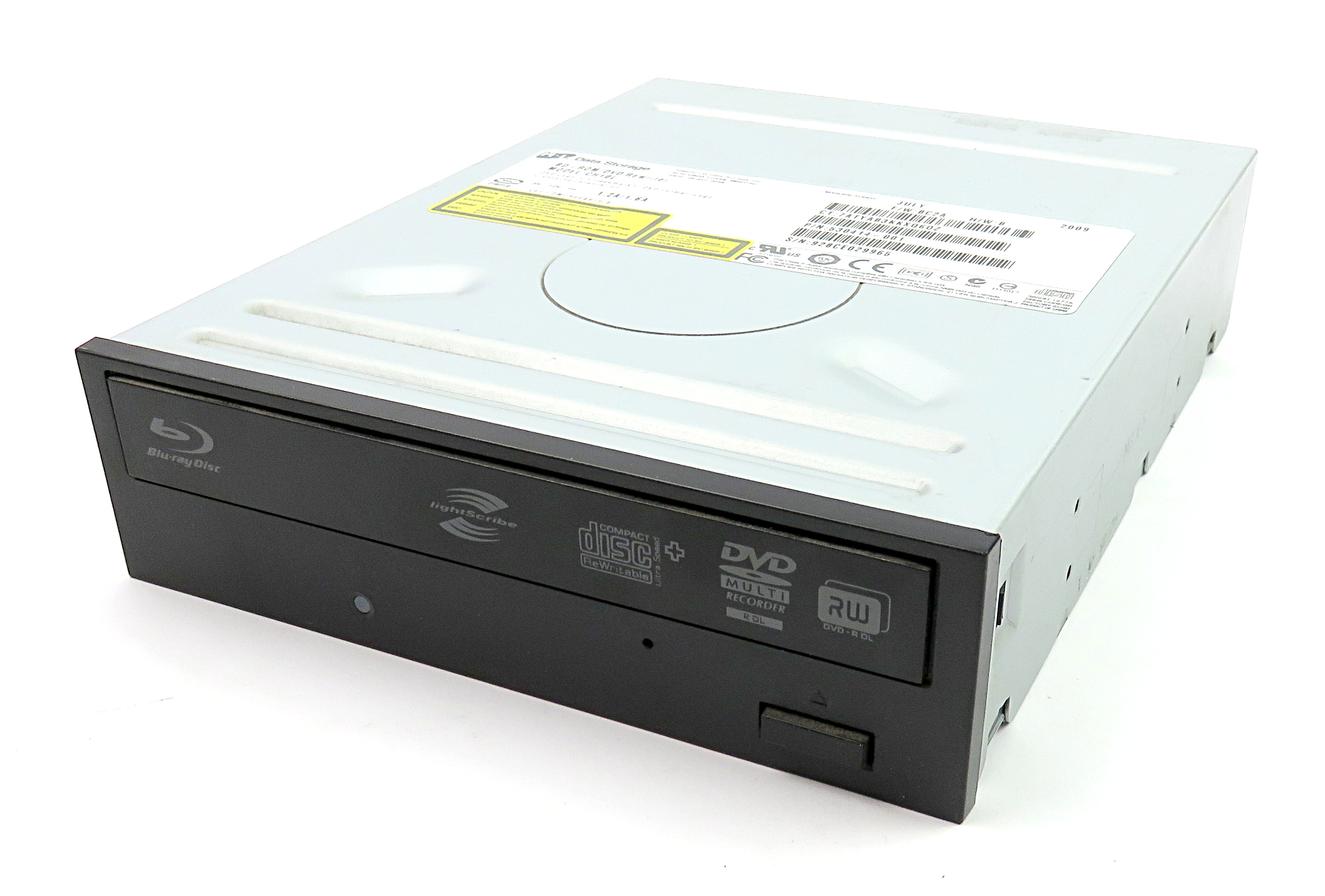 HP 530414-001 HL Data Storage Blu-ray BD-ROM DVD RW SATA Drive Black - CH10L
