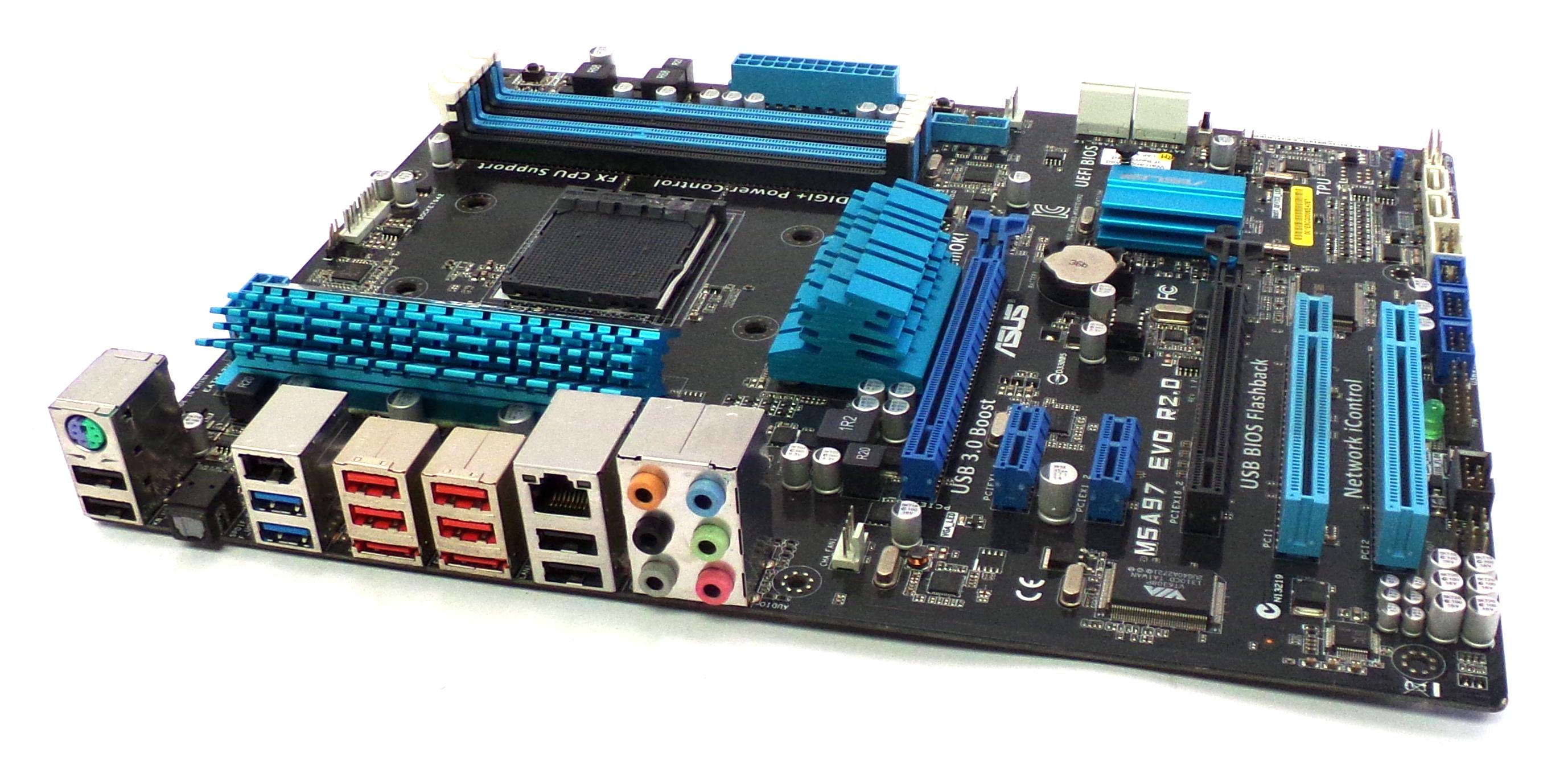 M5A97 EVO R2.0 REV:1.00 Asus AMD Socket AM3b Motherboard