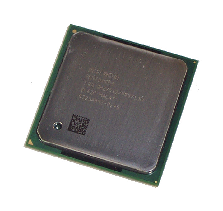 Intel SL62P Pentium 4 1.8GHz 400MHz  512KB Socket 478 Processor