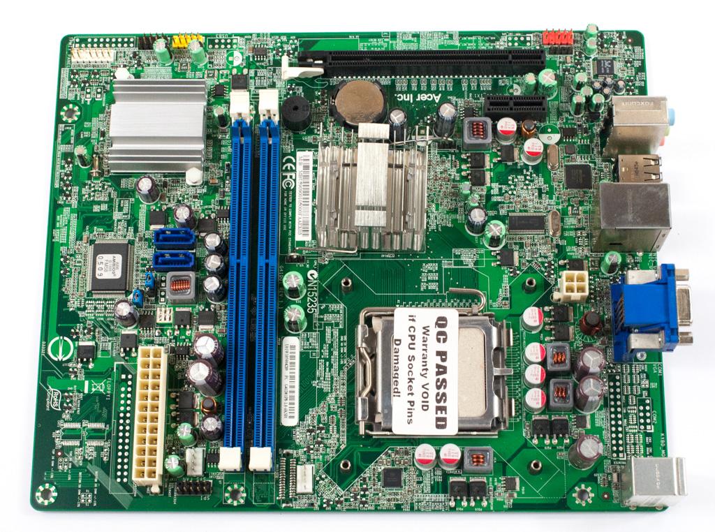 G41D01P8-1.0-6KSH Rev 1.1 Socket 775 System Motherboard MB.U5909.001