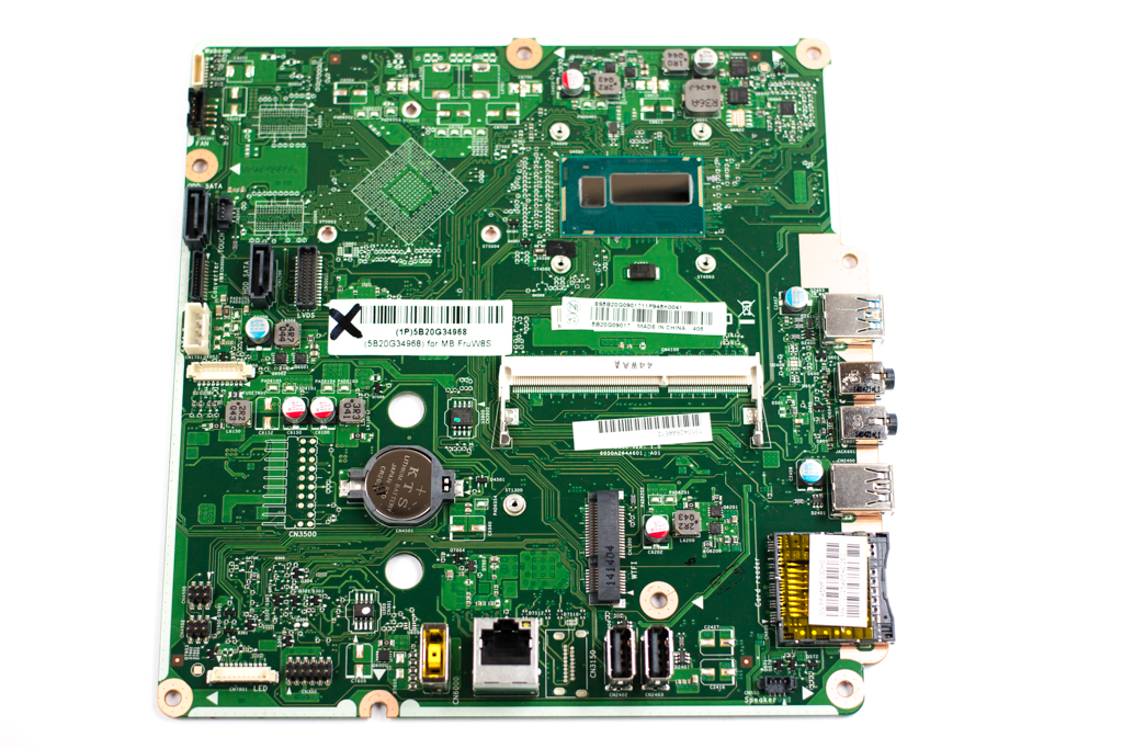 5B20G34968 Lenovo Intel i3-4010U Motherboard For All-In-One PC C470