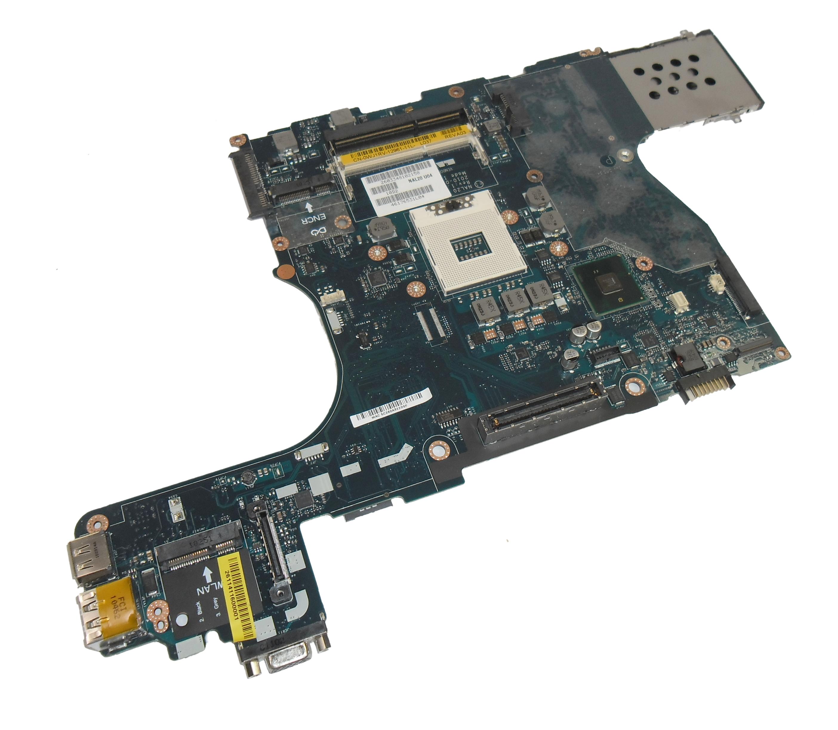 Dell WJ1RV Latitude E6510 Laptop Motherboard