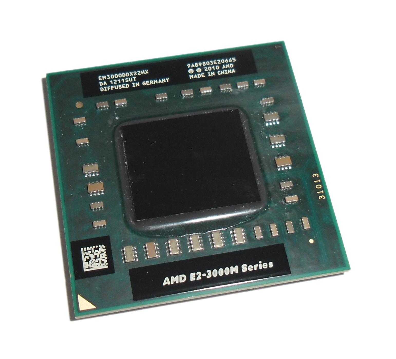 EM3000DDX22HX AMD E2-3000M 1.8GHz Socket FS1 CPU