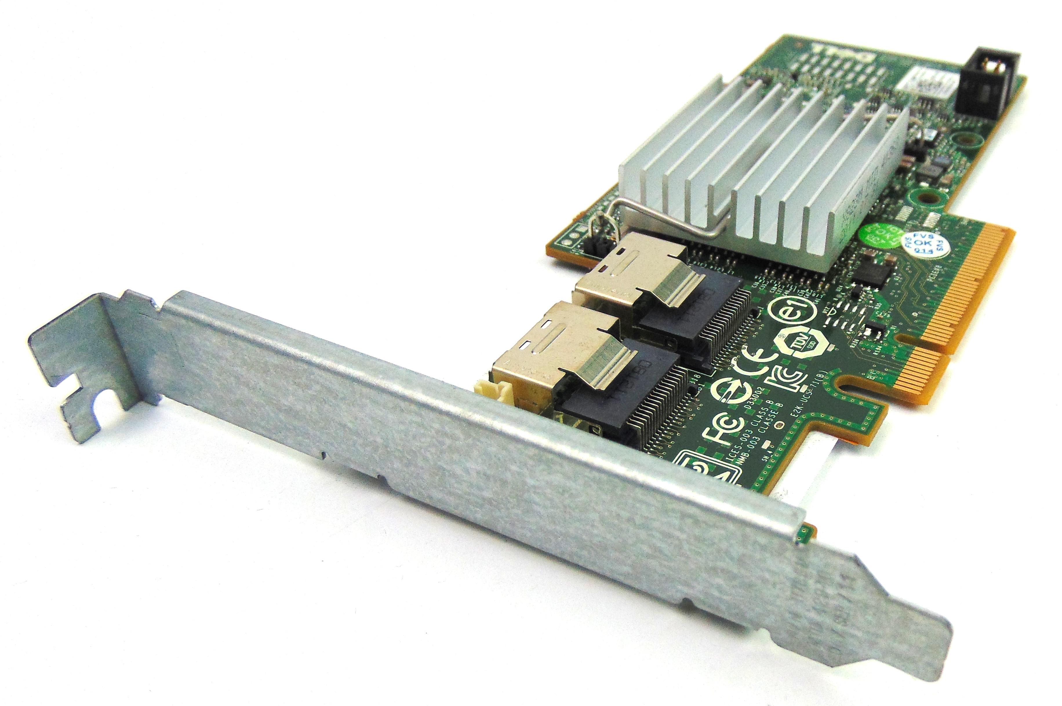 Dell 47MCV Perc H200 PCIe SAS Raid Controller