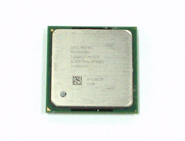Intel SL7K9 Pentium 4 2.8GHz Socket 478 Processor