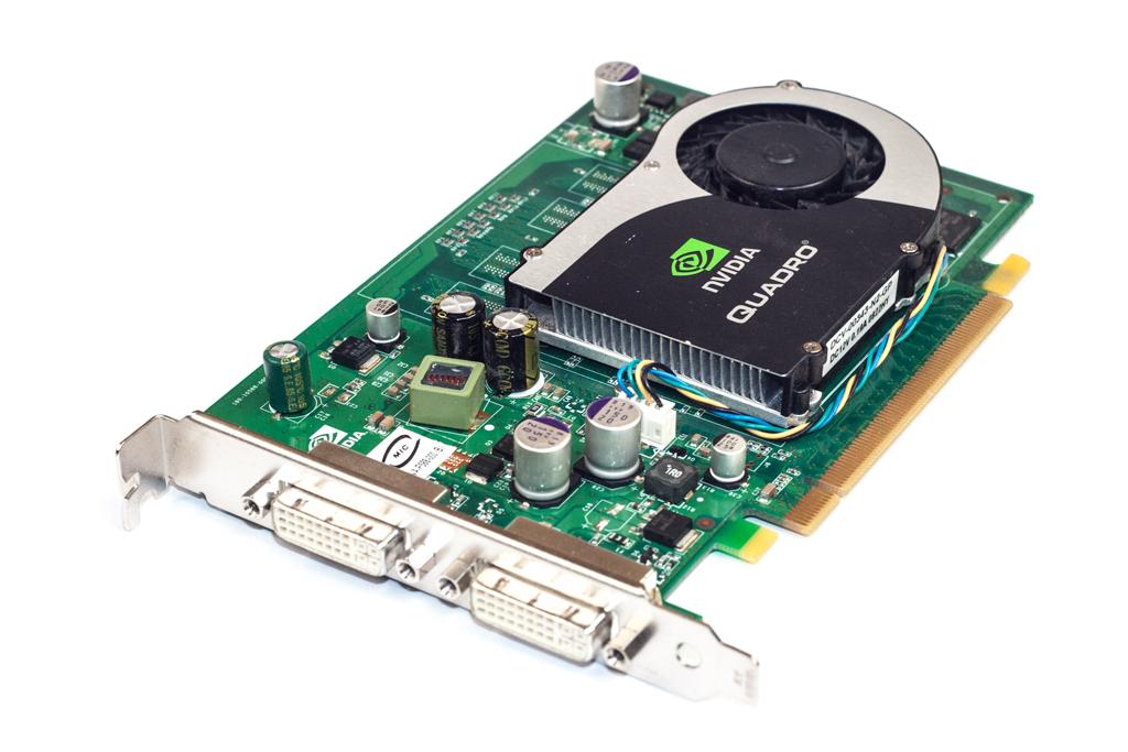 VCQFX370-PCIE PNY NVidia Quadro FX 370 256MB DVI/DVI PCIe Graphics Card