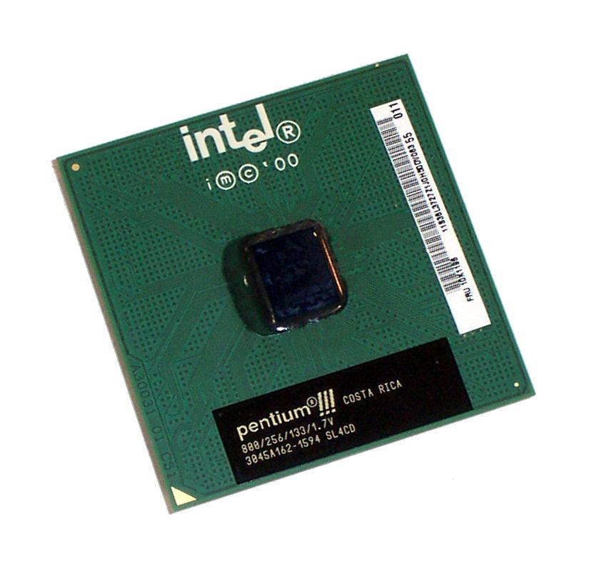 Intel SL4CD Pentium 3 888MHz Socket 370 Processor 800/256/133/1.7V Coppermine