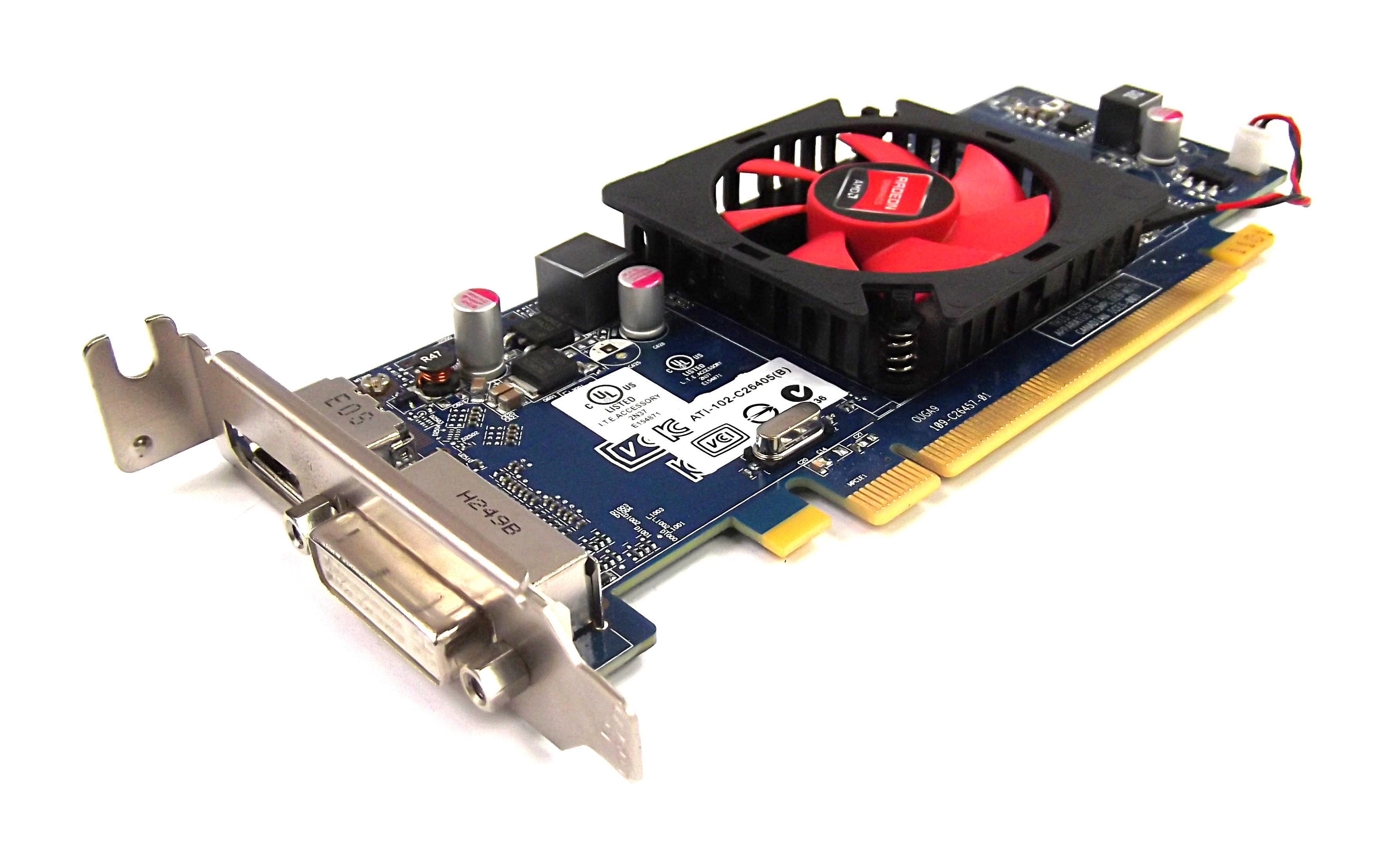 Dell 2FVV6 AMD Radeon HD 7000 Series PCI-e 1GB GDDR3 Low Profile Graphics Card