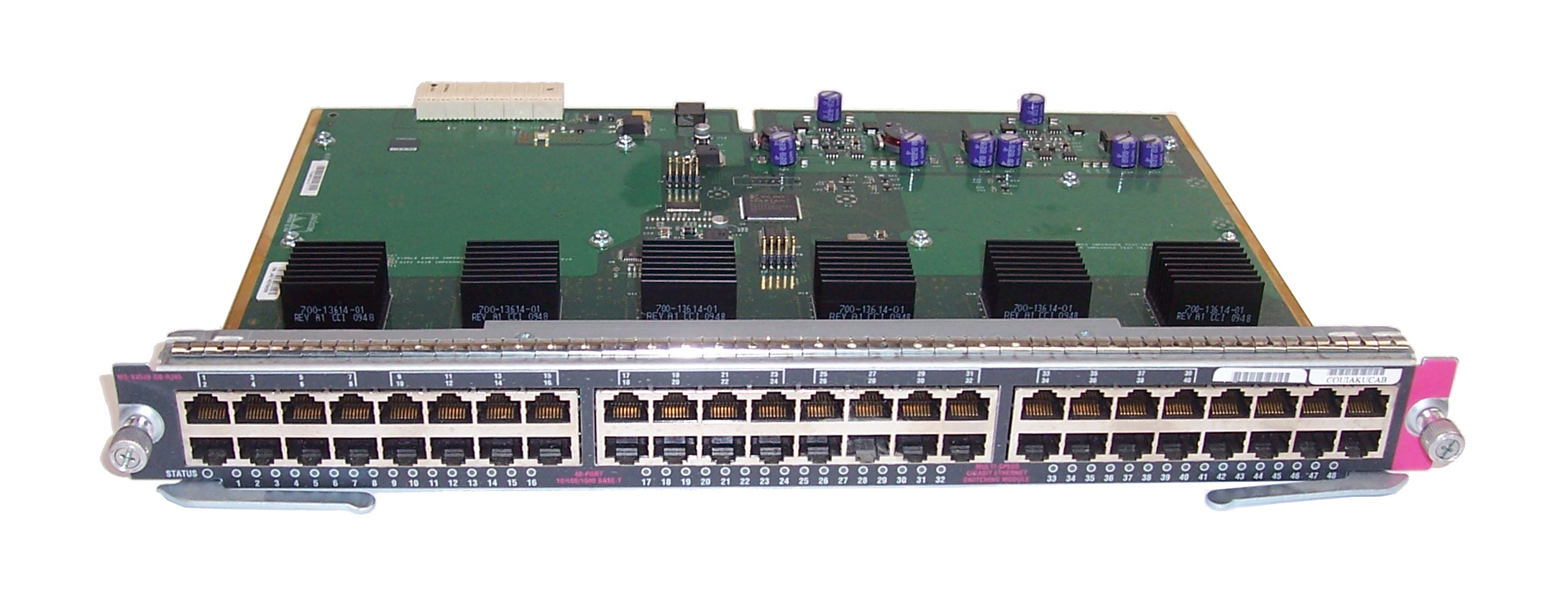 Cisco WS-X4548-GB-RJ45 V06 Catalyst 4500 Gigabit Ethernet Switching Module
