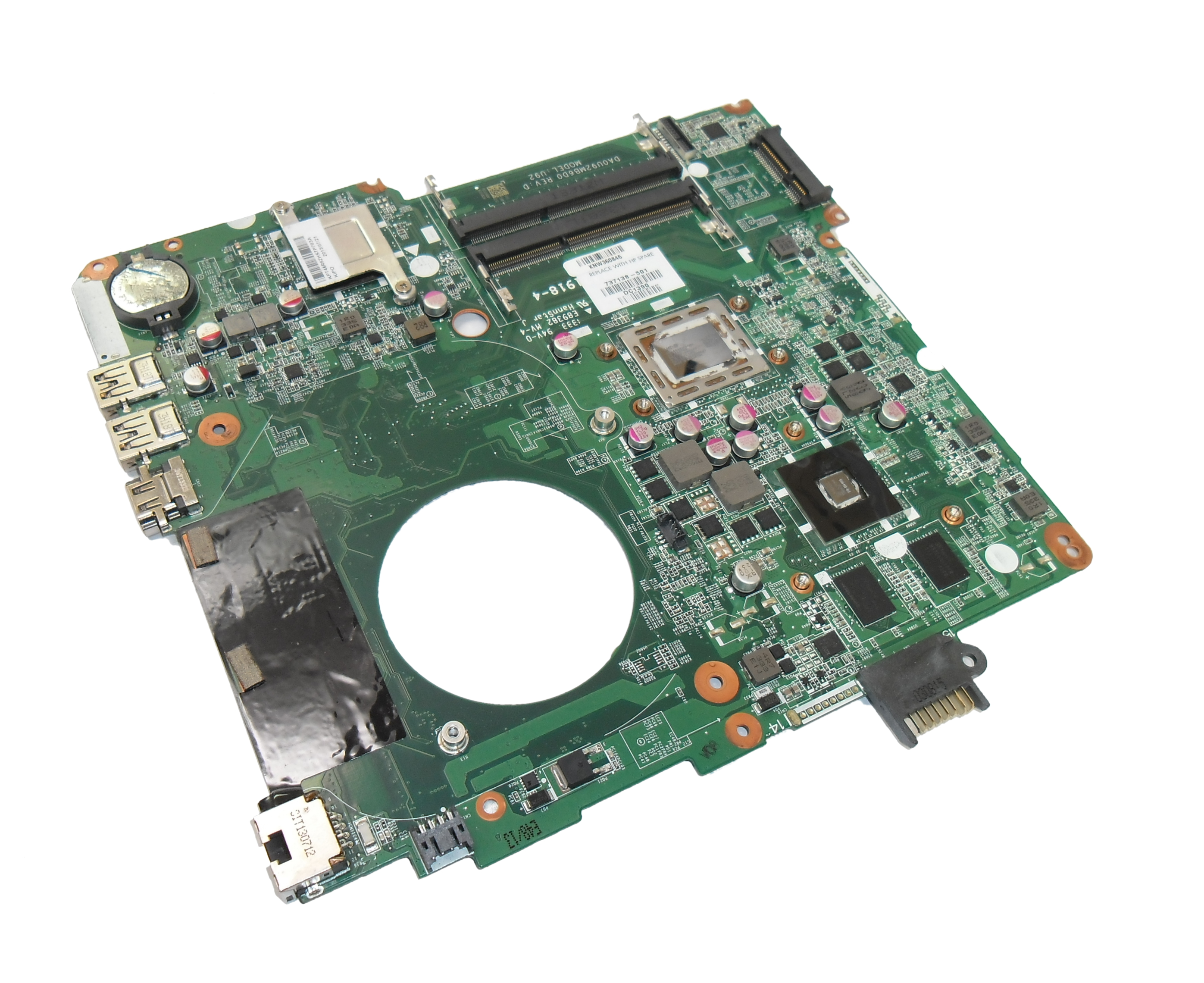 737138-501 HP Pavilion 15-n083sa Motherboard with AMD A10-4655M CPU