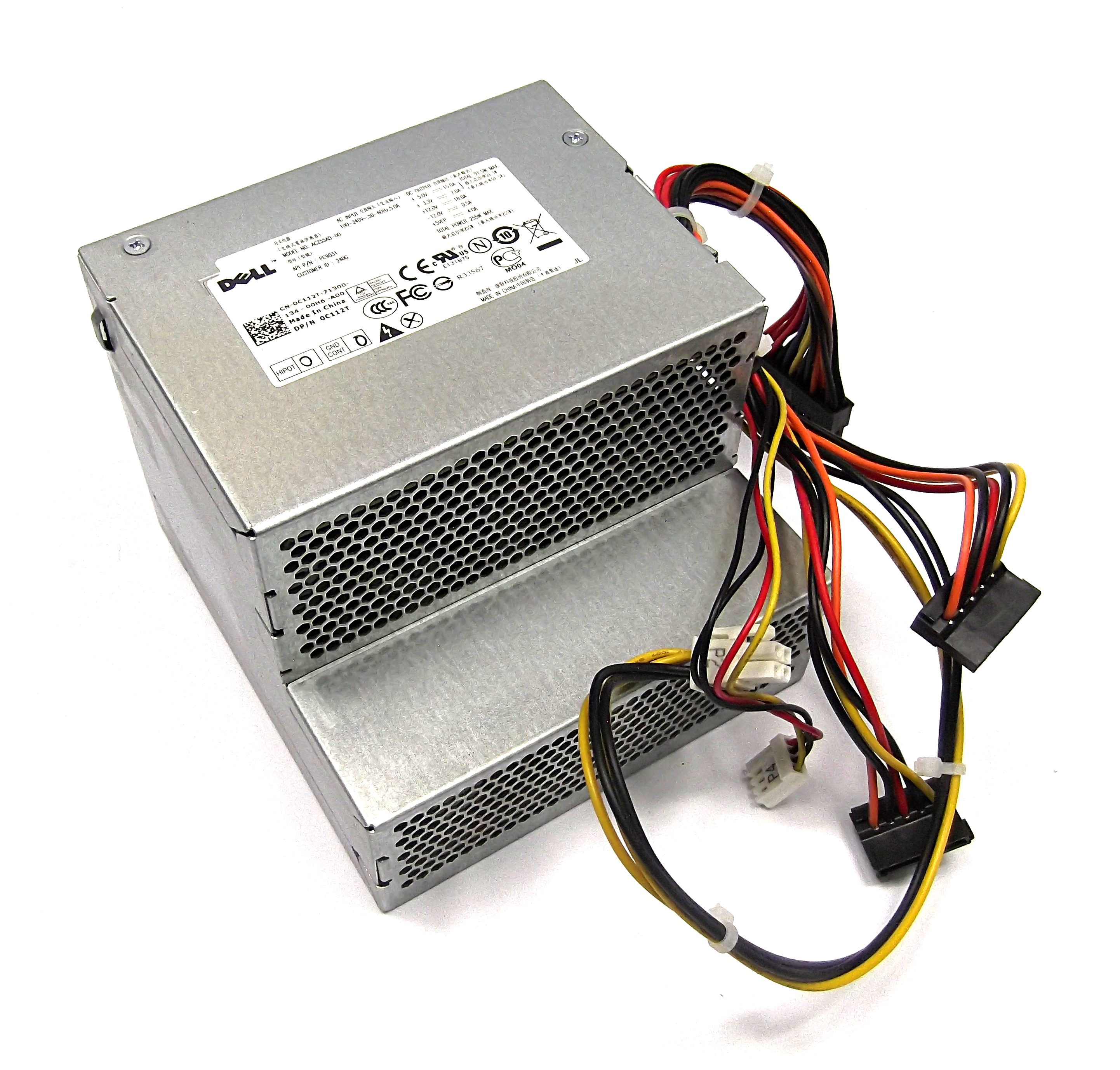 Dell C112T Optiplex 980 DT 255W Mini ATX  Power Supply