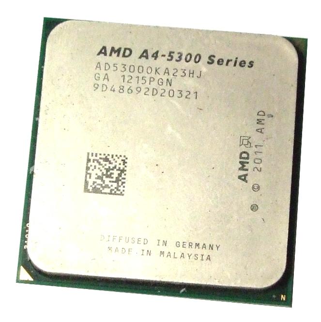 AMD AD5300OKA23HJ A4-5300 3.4GHz Dual Core Socket FM2 CPU