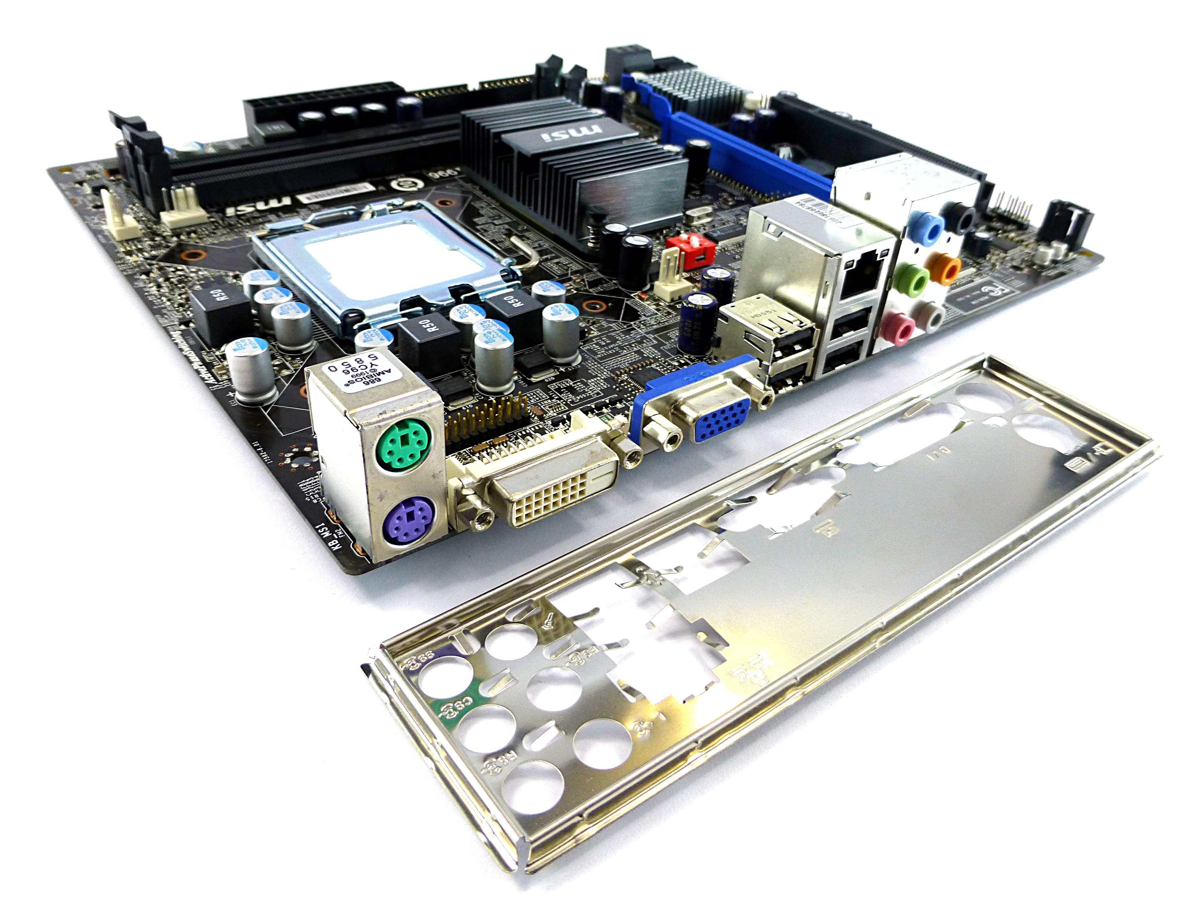 MSI G41M-P25 MS-7592 Ver:6.0 Socket LGA775 MicroATX Motherboard