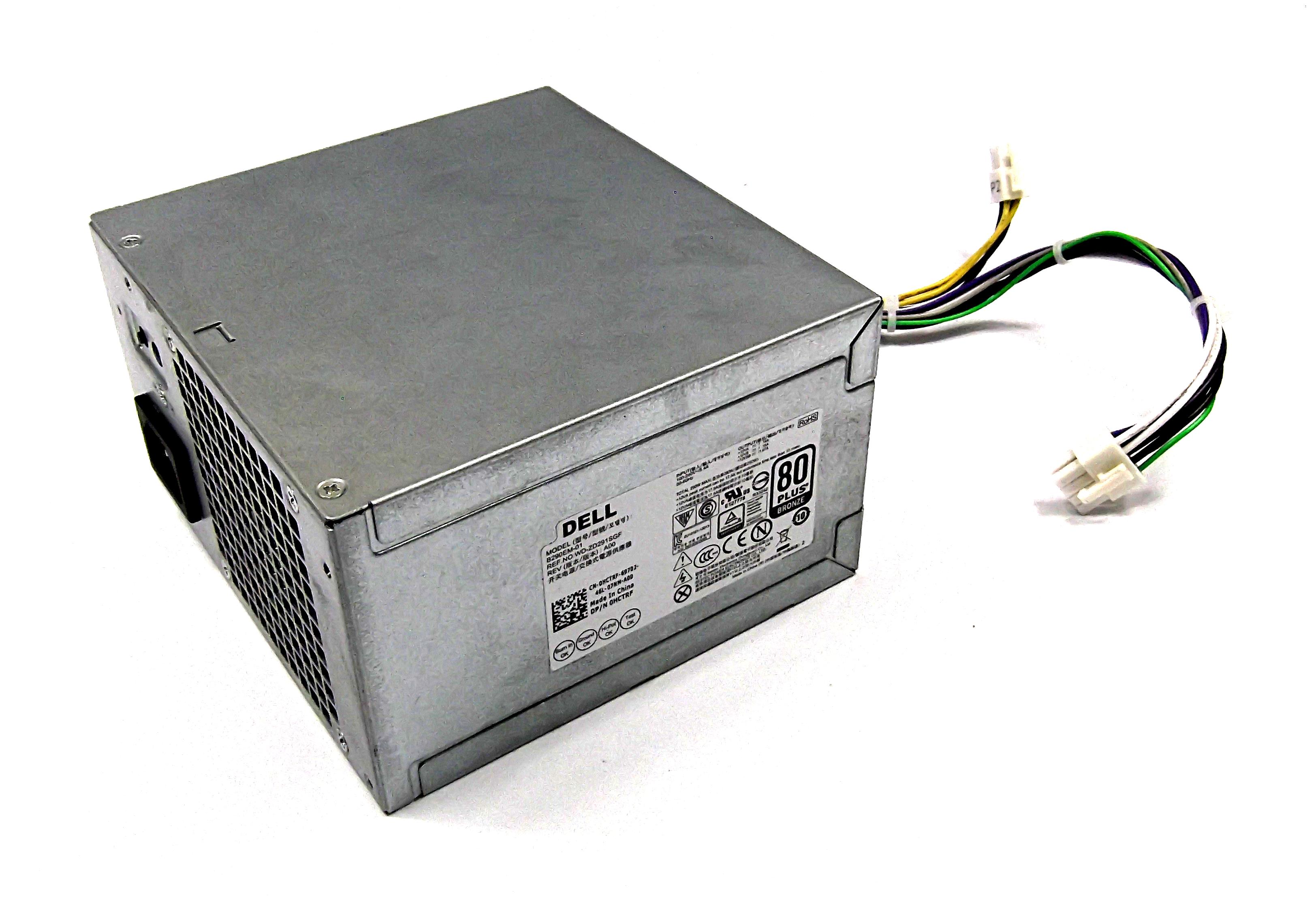 Dell HCTRF 290W 8-Pin Power Supply - Bestec B290EM-01