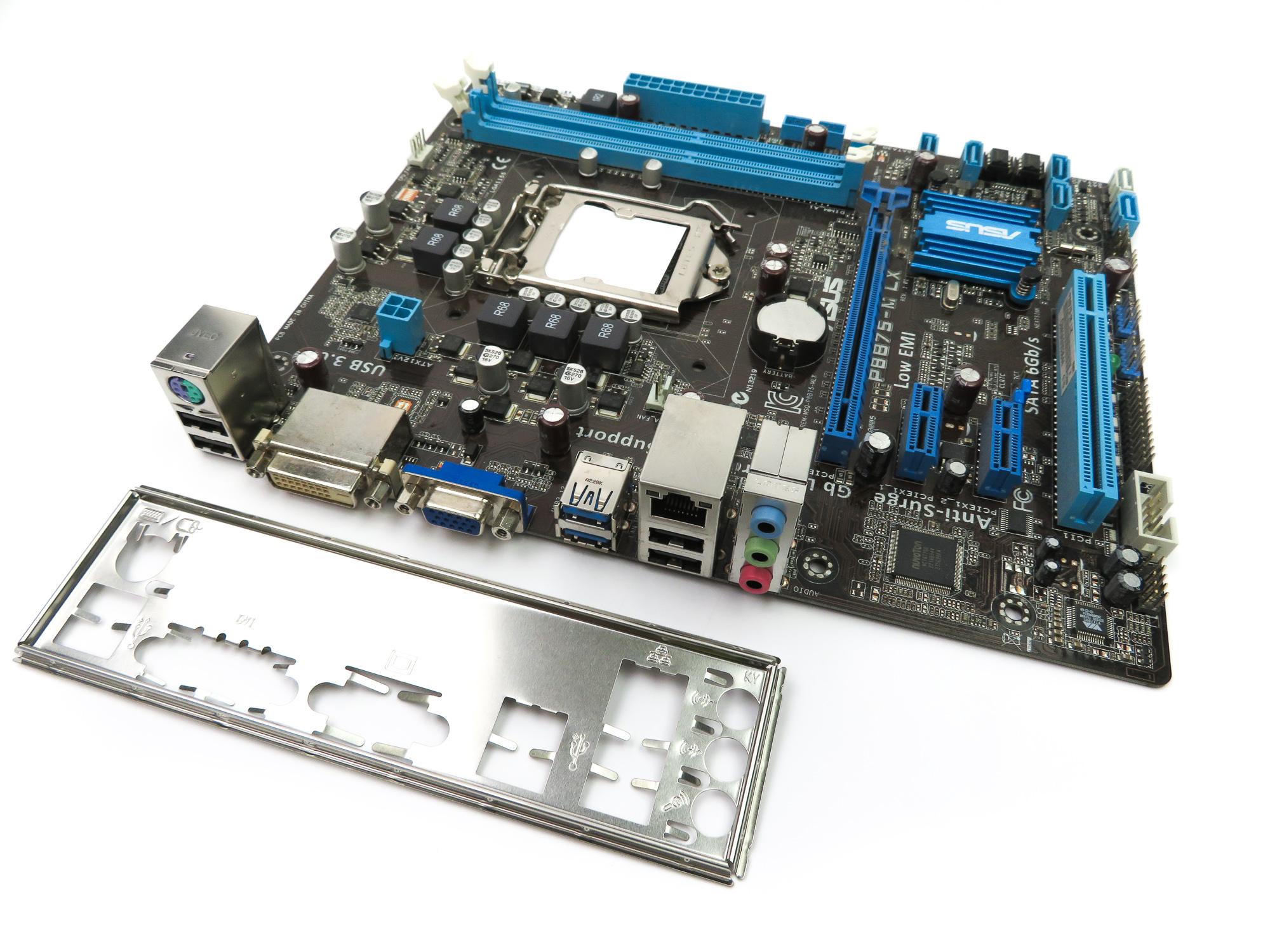 Asus P8B75-M LX Rev. 1.01 Socket LGA1155 Motherboard
