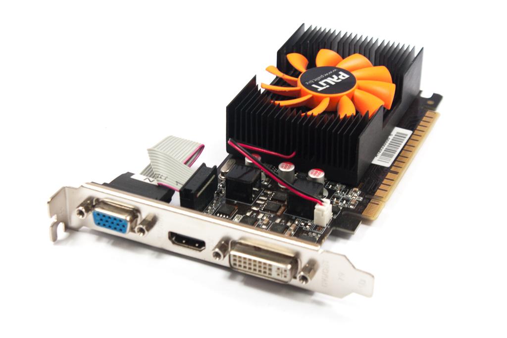 NEAT6200HD06-1082F Palit GeForce GT620 1GB DDR3 VGA/HDMI/DVI Graphics Card