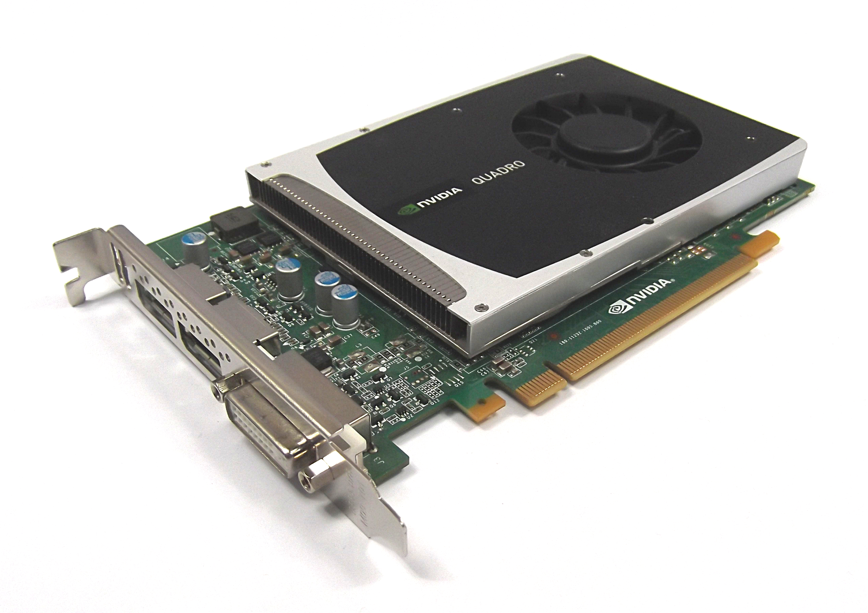 Dell 2PNXF Nvidia Quadro 2000 1GB GDDR5 DVI/Dual DisplayPort PCIe Graphics Card